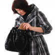 Woman with bag — Stock Photo #4009530