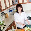 Cooking food — Stock Photo