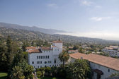 Santa Barbara ,mist coming from the Ocean — Stock Photo