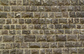 Black Basalt stone wall background — Stock Photo