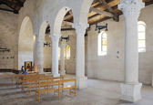 Church Tabgha, interior — Stock Photo