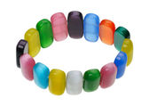Multicolored bracelet, isolation — Stock Photo