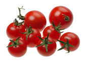 Tomates rojos, aislados — Foto de Stock