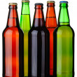 Royalty-Free Stock Photo: Five bottles of beer