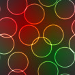 Abstract elegance background with lighting rings — Image vectorielle