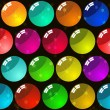 Royalty-Free Stock Vector Image: Background with glass multicolor balls