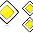 Royalty-Free Stock Vector Image: Set of variants a Main road - road sign