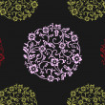 Elegant original seamless floral — Stock Vector #4093472