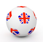 Soccer Ball (3D Illustration) — Foto de Stock