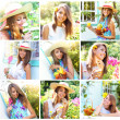 Summer Collage — Stock Photo #5303148