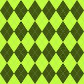 Wzór z zielonego rhombuses — Wektor stockowy