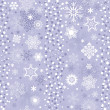 Seamless gentle violet-white striped christmas pattern — Stok Vektör