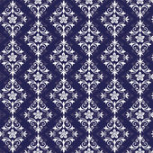 Violet and white seamless pattern — Stock Vector