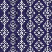 紫と白のシームレスなパターン — ストックベクタ