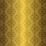 Golden floral seamless pattern — Stock Vector