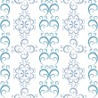 White seamless christmas pattern — ストックベクタ