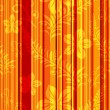 Seamless orange-red striped pattern — Stock Vector
