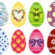 Royalty-Free Stock Vector Image: Collection Easter`s eggs