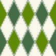 Decorative pattern from rhombuses — Vettoriali Stock