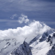 Stock Photo: Mountains in cloud