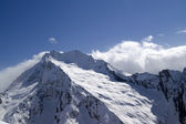 High mountains. Caucasus, Dombay. — Foto Stock