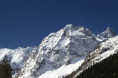 Caucasus Mountains. Sofrudzhu. — 图库照片
