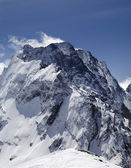 Caucasus Mountains. Dombay-Ulgen. — 图库照片