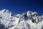 High Mountains in sunny day — Stock Photo