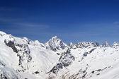 Caucasus Mountains. Dombay. — Stock Photo
