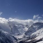 Красивые горы — Стоковое фото