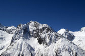 Mountains, Caucasus, Dombay — Stockfoto