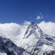 Stock Photo: Panorama Caucasus Mountains. Dombay.