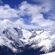 Mountains in cloud — Stock Photo