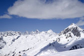 View from ski resort — Stockfoto