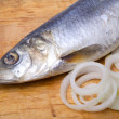 Royalty-Free Stock Photo: Herring with onion