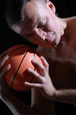 Basketball man — Stock Photo