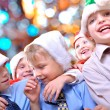 Christmas happy kids — Stock Photo #4224244