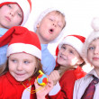 Christmas children — Stock Photo #4342634