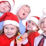 Christmas children — Stock Photo