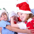 Christmas children — Stock Photo