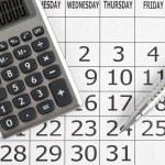 Calendar — Stock Photo #5210441