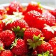Red juicy strawberries — Stock Photo
