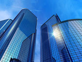 Modern ofis binaları — Stok fotoğraf
