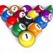Billiard balls — Stock Photo #4032714