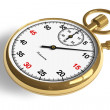 Golden stopwatch — Stock Photo #4033419