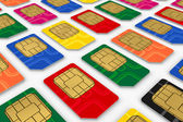 SIM cards — Stock Photo