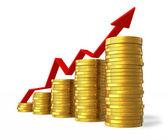 Financial success concept — Stock Photo