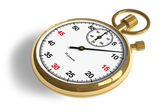 Golden stopwatch — Stock Photo