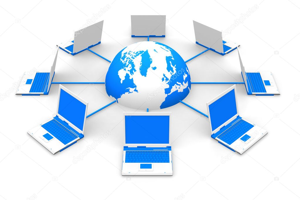 Network concept — Stock Photo #4033180