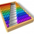 Stock Photo: Rainbow abacus